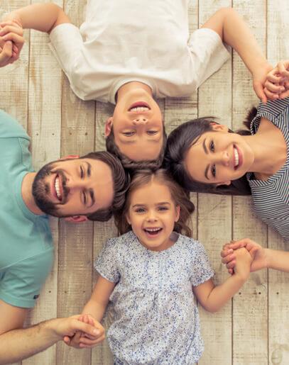 concepto-vive-aqui-familia